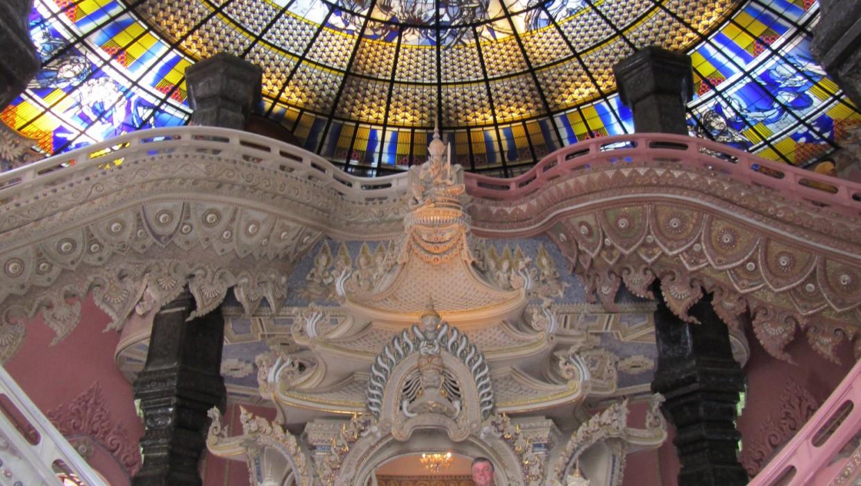 0396 15.7. Bangkok - Erawan Schrein - Ancient Siam - Ammi und Jan