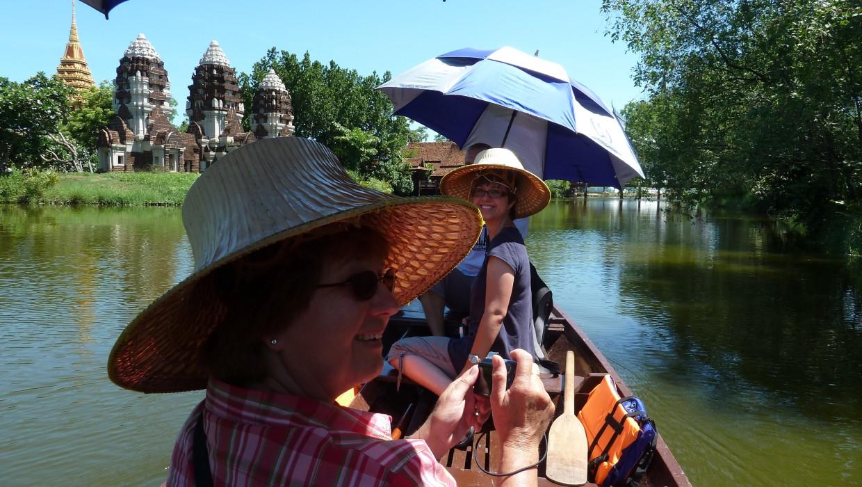 0418 15.7. Bangkok - Erawan Schrein - Ancient Siam - Ammi und Jan