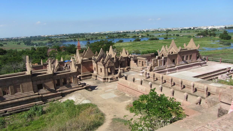 0445 15.7. Bangkok - Erawan Schrein - Ancient Siam - Ammi und Jan