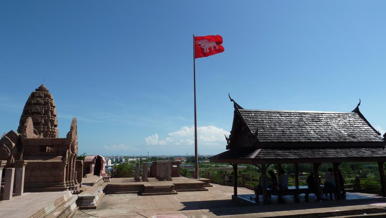 0449 15.7. Bangkok - Erawan Schrein - Ancient Siam - Ammi und Jan